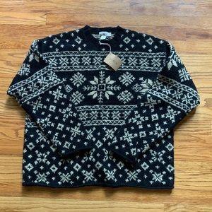 New NWT J.Crew Mens Wool Sweater Large
